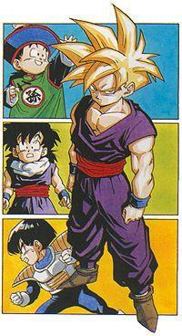 Dragon Ball Z Gohan Super Saiyan. Gohan will always be in my mind the strongest super hero in the world/universe Dragon Ball Z, Akira, Manga Anime, Animation, Anime Comics, Digimon, Jokers, Anime Characters, Illustration