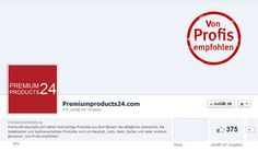 PremiumProducts24.com bei Facebook: Follow us on Facebook