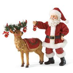 Department 56 Possible Dreams Santa Pepperming Reindeer