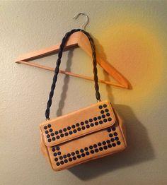 Mod Vintage Shoulder Strap Purse Late 1960s-Early by BarbeeVintage #Coachella #mod #vintage #purse