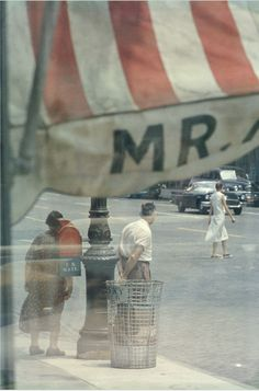 MR by Saul Leiter, 1958
