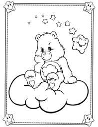 Care Bears coloring pages, colouring The Care Bears Boy Coloring, Coloring Pages For Girls, Cartoon Coloring Pages, Colouring Pages, Printable Coloring Pages, Coloring Sheets, Coloring Books, Bear Sketch, Hello Kitty Coloring