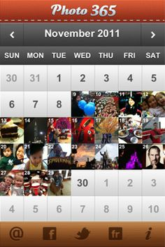 Photo 365  An app that remembers your year one photo at a time.
