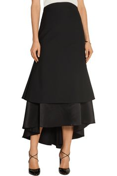 Shop on-sale Ellery Suzie wool and satin midi skirt. Browse other discount designer Skirts & more on The Most Fashionable Fashion Outlet, THE OUTNET.COM
