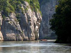 Donau (Danube)near Kehlheim Germany by Bach Wolfgang
