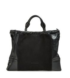 b1a3117eee18 BURBERRY   BIG CRUSH  LEATHER TOTE Rent at www.ArmGem.com now!