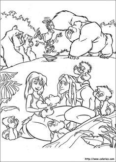 fievel character ideas pinterest animation amblin entertainment and disney animation - Coloriage Tarzan 3