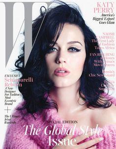 Katy Perry's Makeup, W Magazine November 2013 - NopaBeauty