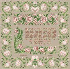 Spring Rose Sampler by Wal D'Champs