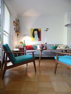 Nur für kurze Zeit..., Tags Artemide Lampe + Danish 60er + Kräftige Farben