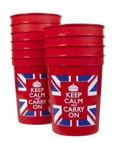 Keep Calm and Carry On Plastic Cups Union Jack Set of Ten Red, http://www.amazon.com/dp/B0084V7NO8/ref=cm_sw_r_pi_awd_MU08rb0T09SRD