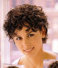 Page 08 - Short a | by Running With Scissors 67 Short Permed Hair, Short Curly Hairstyles For Women, Grey Curly Hair, Short Curls, Short Thin Hair, Short Grey Hair, Haircuts For Curly Hair, Hairstyles Over 50, Curly Hair Cuts