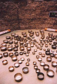 Tibetan Bowl Market - singing bowls for everyone!