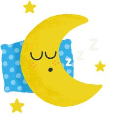Sleeping Gif, Night Night, Animated Gif, Gifs, Moon, Good Night, The Moon, Presents