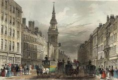 Posts Tagged 'Georgian Merchants' Cheapside, The Gardiners, and Pride and Prejudice, via Jane Austen's World. Cheapside and Bow Church engraved by W.Albutt after T. The pretty steeple is visible in this image. Old London, East London, London City, Great Fire Of London, The Great Fire, Mississippi, Rhyming Slang, Epic Story, Baroque