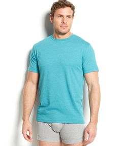 Alfani Men's Heathered Crew-Neck T-Shirt