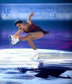News Photo : Ladies Singles winner Evgenia Medvedeva of Russia...