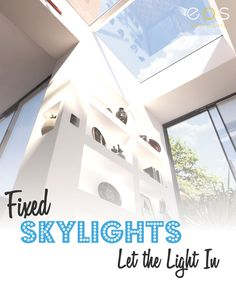Natural light can make a home lighter and brighter and give the feeling of more space. If you want to flood your home with natural light skylights are a great option. Find out why.. #skylights #naturallight #rooflights #eosrooflights.