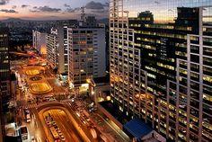 Inicio da Paulista com a Consolação