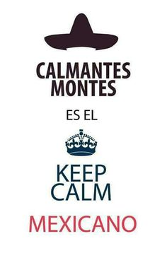 Keep calm in Spanish!