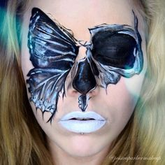 Butterfly - The Most Hauntingly Gorgeous Halloween Makeup Looks on Instagram - Photos