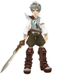 """Allegretto, the main character from the game I'm currently playing """"Eternal Sonata"""""""