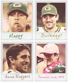 Happy Birthday to the always amazing and super attractive Aaron Rodgers! Green Bay Football, Green Bay Packers Fans, Best Football Team, Boy Birthday, Happy Birthday, Rodgers Green Bay, Packers Baby, Boise State Broncos, Go Pack Go