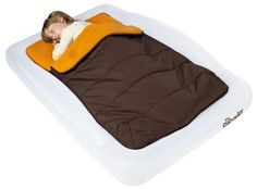 The Shrunks Indoor Sleeping Bag for Toddler Travel, great indoor or outdoor, and travels well for outings or family camping trips.