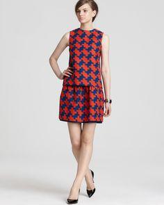 DIANE von FURSTENBERG Jacquard Dress