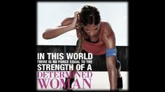 exercise motivational posters | MOTIVATION POSTER: Determined woman.. |