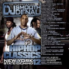 DJ Smooth Denali Hip Hop Classics New York State Of Mind CD Collection