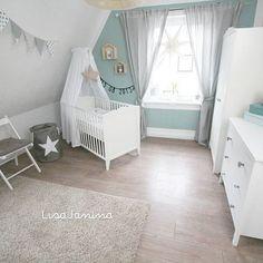 ..Und hier das dritte Foto von Lio's Zimmer #babyboy #babyjunge #Kinderzimmer #kidsroom #babyroom #babyzimmer #deko #weiß #türkis #ikea #ikeababy #ikeazimmer ähnliche tolle Projekte und Ideen wie im Bild vorgestellt findest du auch in unserem Magazin . Wir freuen uns auf deinen Besuch. Liebe Grüße