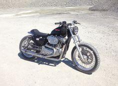 MOD moto Sportster Tracker out offroading