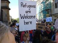 Refugees are welcome here – seize the moment! | Occupy The ...