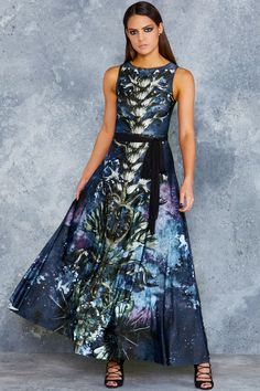 Iron Thorn Princess Maxi Dress - LIMITED ($150AUD) by BlackMilk Clothing