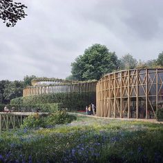 Japanese architect Kengo Kuma has unveiled plans for a new Hans Christian Andersen Museum in the Danish city of Odense which will revolve around the writer's popular fairy tales. Read the full story on http://ift.tt/1SdPF0N #architecture #news #musuem #KengoKuma by dezeen