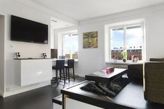 400sq.ft/37sqm Tiny apartment with ingenious storage solutions