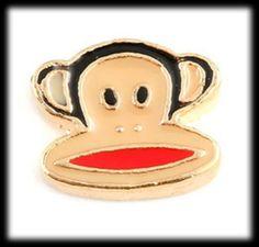 He encontrado este interesante anuncio de Etsy en https://www.etsy.com/es/listing/194803123/gold-monkey-floating-charms-for-lockets