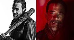 Negan The Walking Dead Season 7 character portrait