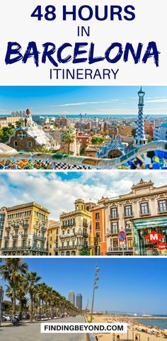 Only have 2 days / 48 hours in Barcelona? Check out our Barcelona #Itinerary.  #barcelona #barcelonatravel #europetravel #thingstodo #bestofbarcelona #barcelonahighlights #barcelonaguides #barcelonatips | Places to visit in Barcelona | Places to see in Barcelona | Top tips for Barcelona | Top ten in Barcelona | Barcelona Attractions | Barcelona Sights | #bestofbarcelona | What to do in Barcelona | #visitbarcelona #bestofbarcelona #visitbarcelona | Two days in Barcelona