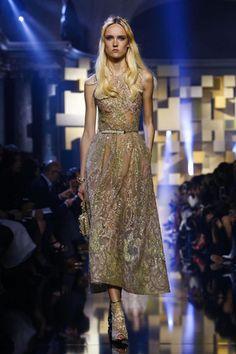 Elie Saab Couture Fall Winter 2015 Paris - NOWFASHION