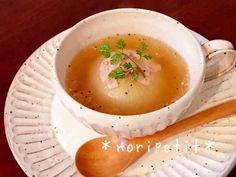 レンチンde時短♡新玉ねぎ丸ごとスープの画像