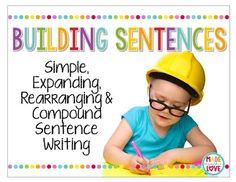 Adjective Anchor Chart, Sentence Anchor Chart, Grammar Anchor Charts, Anchor Charts First Grade, Sentence Writing, Teaching Grammar, Teaching Kids, Writing Offices, 2nd Grade Writing