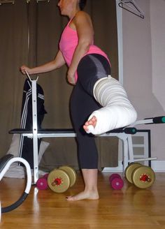 Short Gym Couleur Chair Used Broda 8 Best Non Weight Bearing Workout Images Exercises Fitness French Bunion Soup Be Empowered My Thigh