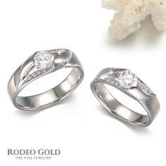 Sumptuous White Gold Wedding Rings