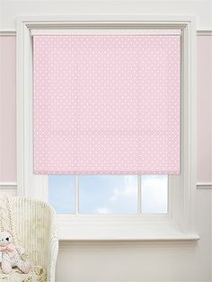Party Polka Candyfloss Blackout Roller Blind