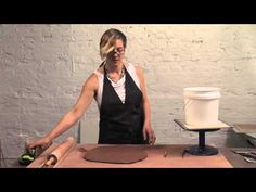 Ceramic Arts Daily – How to Make a Bisque Hump Mold with a Bucket