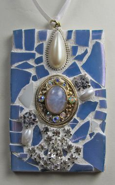 Icy blues and cool jewels