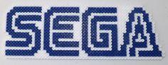 Sega Title Perler Bead Art by kamikazekeeg on deviantART