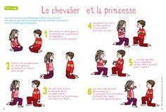 Princesse et Chevalier  Apprivoiser l'autre !